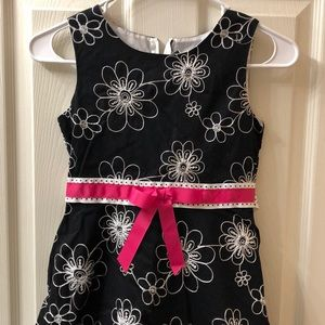 Girls Size 10 Flower Print Dress